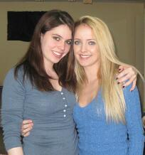 Erin C and her sister